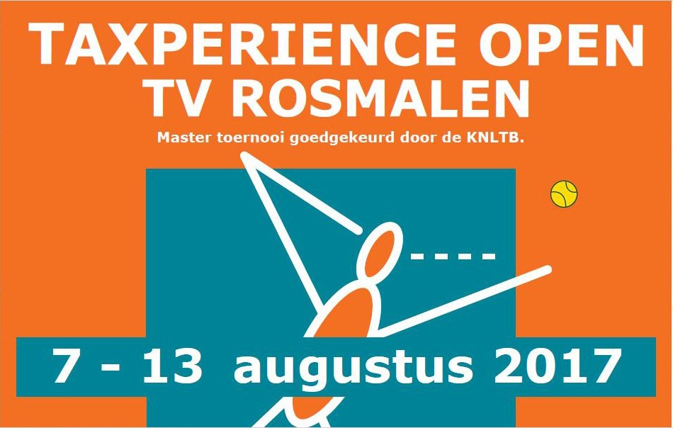 Taxperience Open Rosmalen from 7 - 13 august